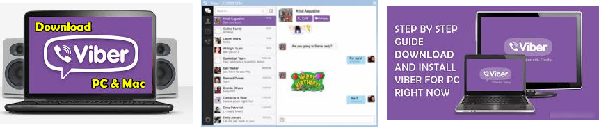 Viber For PC - Download On Windows 7, 8, 8 1, 10 - Get PC